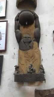 Dios de la fuerza y el trabajo / dios yoruba. Género Betancourt Ancian