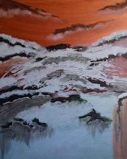 Sylvain Dhuême - Peinture - La Grande Vallée 05 - 2020. Sylvain Dhuême