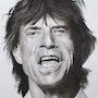 Sir Mick Jagger Rolling Stones. Abdel Lakhdouri