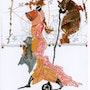 Voyageur n°5 serie des voyages imaginaires. Francine Maunier