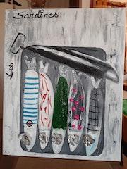 La boite de sardines.