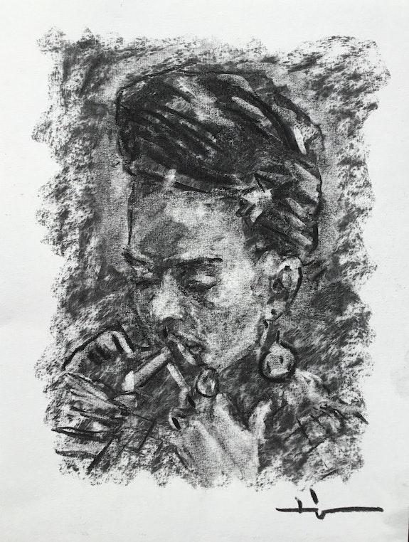 Frida With Matches. Dominique Dève Dominique Dève