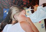 Sleeping Natalia. Wiwnow