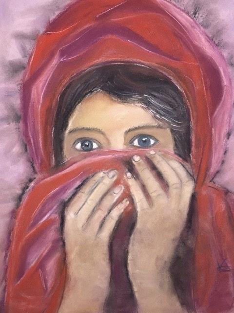 Douce Afghane. Conquet Vivi