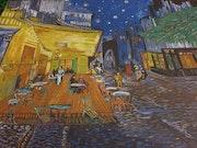 Hommage à Vincent van gogh café à arles.