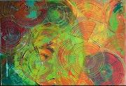 Spirale- acrylique. Atelier49450