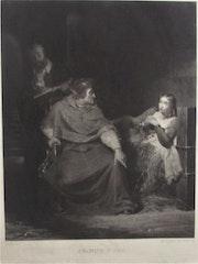 Samuel Reynolds (1773-1835), en 1829, d'après de La Roche (1797-1856). Historien d'art, Archéologue; Chercheur Free-L.