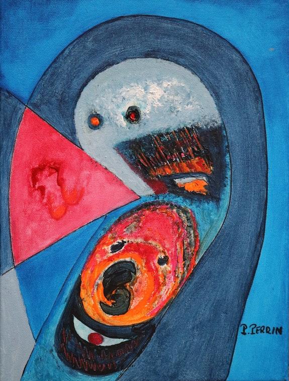 «Frayeur» (Spavento-Schreken). Pierre Perrin Mars 2020 Piero