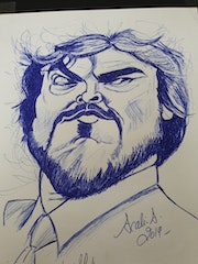 Jack black. Scali'arts