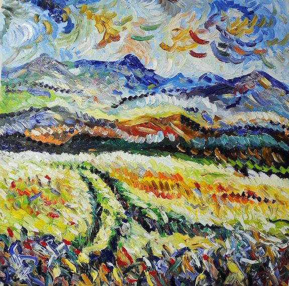 Il grano nel colore. Antonino Puliafico Antonino Puliafico
