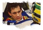 Hommage a Ayrton Senna.