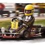 Hommage Ayrton Senna. P Fort