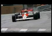Hommage à Ayrton Senna.