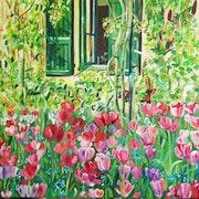 Les tulipes de Giverny.