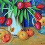 Tulipes Golden. Jean-Claude Frairrot