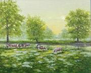 Petit troupeau des bords de Loire.