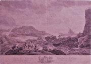 Catherine Cousinet-Lempereur, (°1726), d'après J. Vernet : La tempête..