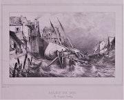 Benard, lithographe, d'après Malatier, interprète dessinateur d'Eugène Isabey.. Historien d'art, Archéologue; Chercheur Free-L.
