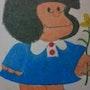 Mafalda personaje comicos argentino. Nadia Parodi