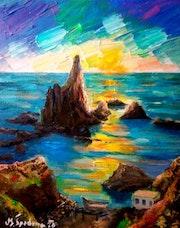 Arrecife de las Sirenas. Cabo De Gata. Pintorcheco