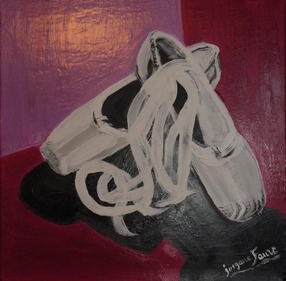 Deux petits chaussons. Josyane Faure J. Faure