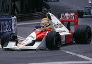 Dessin caricature Ayrton Senna.