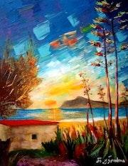 La playa de los Genoveses. Cabo De Gata Almeria (Espaňa). Pintorcheco