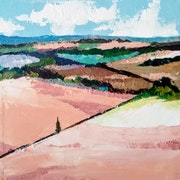 Paysage Provençal 2020 n°2. XI Chen