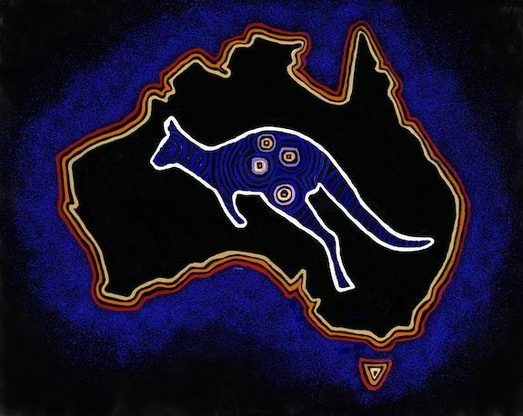 Aboriginal Art. Kati Kati