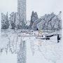 La tour de Bretagne à Nantes. Yves Briais