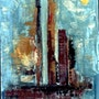 City abstraction-2. Anand Manchiraju