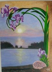 Les iris.