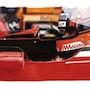 Dessin pilote f1 Gilles Villeneuve.