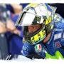 Dessin du pilote moto Valentino Rossi. P Fort