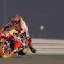 Caricature du pilote moto Marc Marquez. P Fort