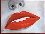 Lèvres gloss. Marie Novau