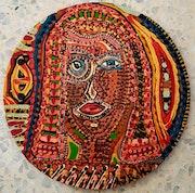 Pintor israel visitas grupo artistico estudio de arte. Mirit Ben-Nun