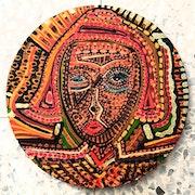 Pintor israeli giras grupos estudio artistico pinturas autenticas. Mirit Ben-Nun