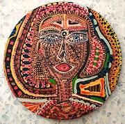 Pintor israeli estudio artistico Israel recibe grupos turistico.