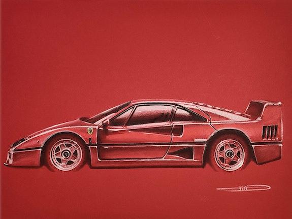 Ferrari f40. Thibaud Barillot Thibaud Barillot
