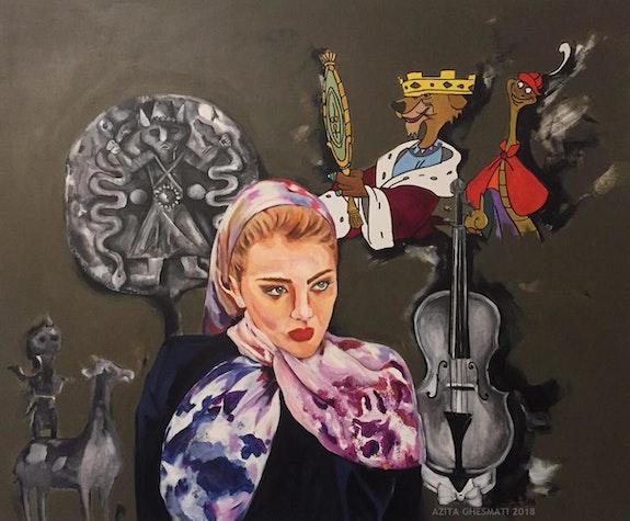 Untitled 003. Azita Ghesmati Biafarin