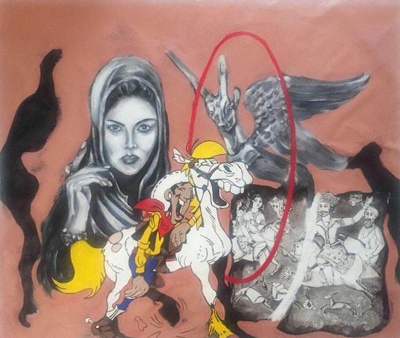 Untitled 005. Azita Ghesmati Biafarin