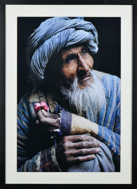 05 – L'Afghan à la rose 1965. Sabrina & Roland Michaud Atelier Galerie Taylor