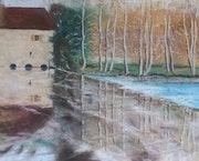 Le moulin du Bourgnoux, 11 de la série «Main gauche». Dany Wattier