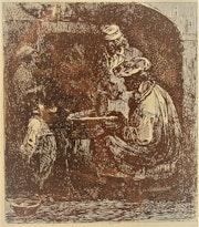 Nicolas Toussaint Charlet, scène de vie, (1828 ? )..