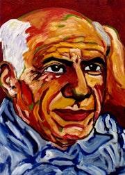 25- Picasso a los 66 años.. Carmen Luna