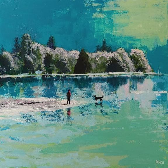 Le Lac. David Garnier David Garnier