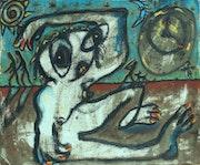 » Insomnia » Canvas, acrylic. Tariel Soziashvili