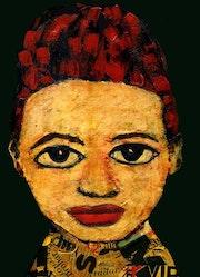 5- Ilusión. Retratos Expresionistas.. Carmen Luna