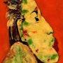 13- Beso. Retratos Expresinstas.. Carmen Luna